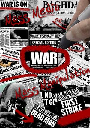 mass media war